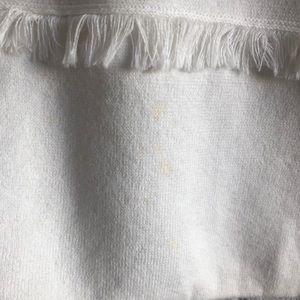 kate spade Sweaters - Kate Spade New York Fringe Short Sleeve Sweater